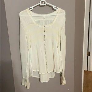 Free People Boho blouse, M
